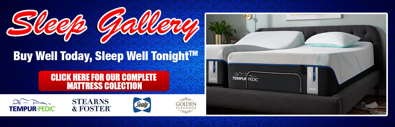 Tempur-Pedic Sealy Stearns & Fosters Mattresses