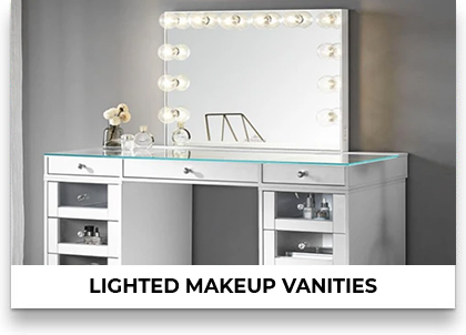 Lighted Makeup Vanities